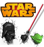 Star Wars Tric Jardineria Led
