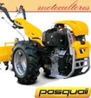 Motocultores Pasquali profesionales.