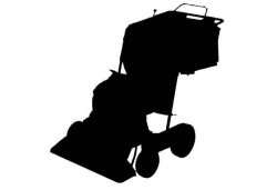 Soplador a gasolina con ruedas